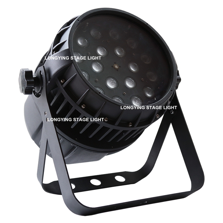 Free Shipping Waterproof 18x12w RGBW 4IN1 Zoom LED Par Light Outdoor DMX512 Led Disco Party Stage Light