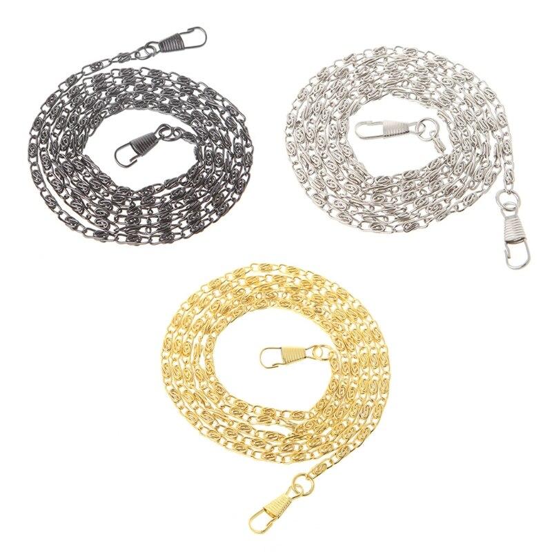 1PC New Metal Purse Chain Strap Handle Shoulder Crossbody Bag Handbag Replacement