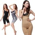 Body mujeres underwear magia de fibra de bambú que adelgaza juegos carbón fajas cintura corsés fajas body shape q1110