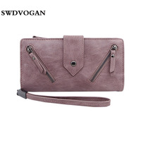 Ladies Wallet Women Purse Credit Card Holder Zipper Walet Women Wallets Coin Purse Female Wallet Case
