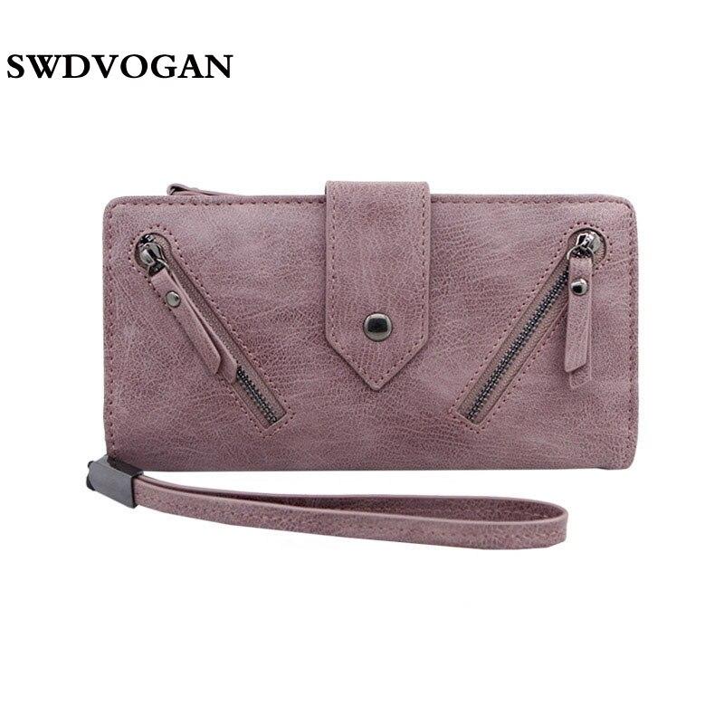 Women Purse Handbag Wallet Case For Xiaomi Redmi 4X MI A1 Big Capacity Wallet Female Purse