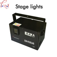 110V 250V Dance hall beam lamp 30K vibration mirror key screen full color animation laser lighting KTV bar lights 1pc