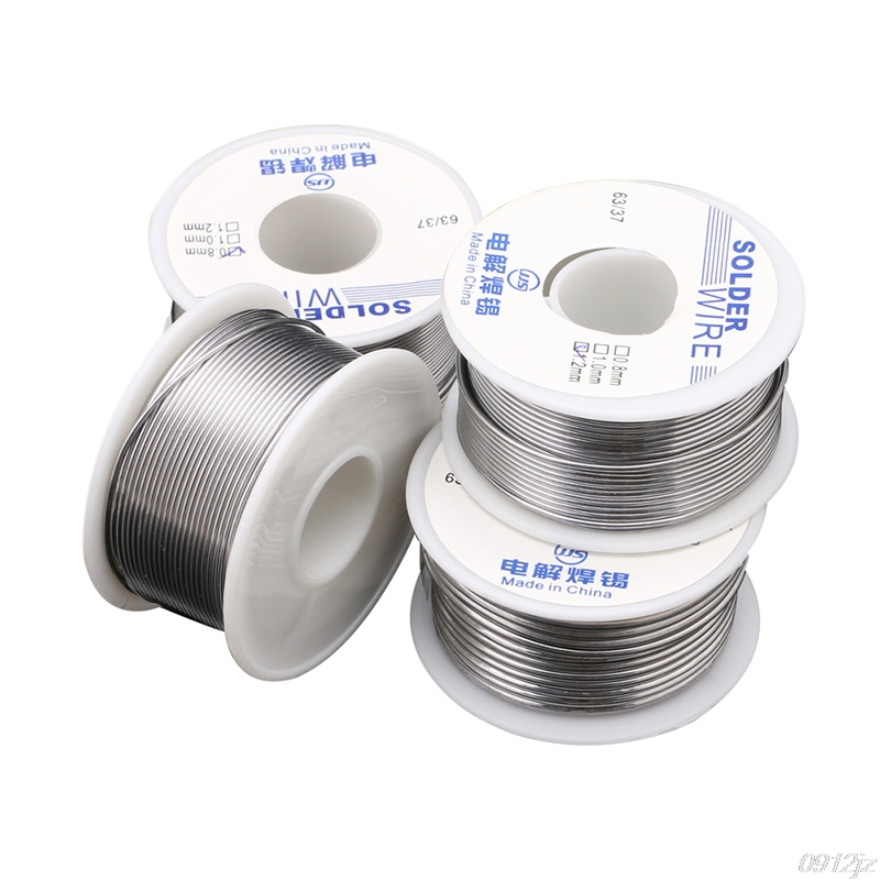 Electronic Soldering 100g 0.8/1.0/1.2/1.8mm Tin Weld Solder Wire Welding Wires New C90A New Drop ship