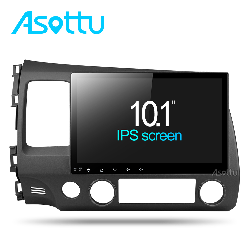 Asottu 2G android 8 1 car dvd gps player for honda civic 2006 2011 car radio