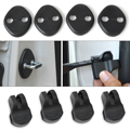 New 4Pcs Car Waterproof Door Lock Protective Cover + 4Pcs Door Check Arm Protection Cover For KIA Sportage 2010 2011 2012 2013