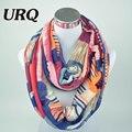 Дизайнерский Бренд Мода Бесконечность Шарфы Зима Теплая Плед Женщина Трубки шарф Тартан шарфы V8A9213