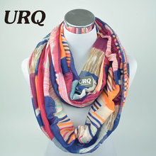 Designer Brand Fashion Infinity Scarfs Winter Warm Plaid  Woman Tube scarf Tartan scarves V8A9213