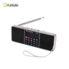 L-288 Mini FM Radio Speaker Portable Rechargeable Stereo LCD Screen Support TF Card USB Disk MP3 Music Player Loudspeaker
