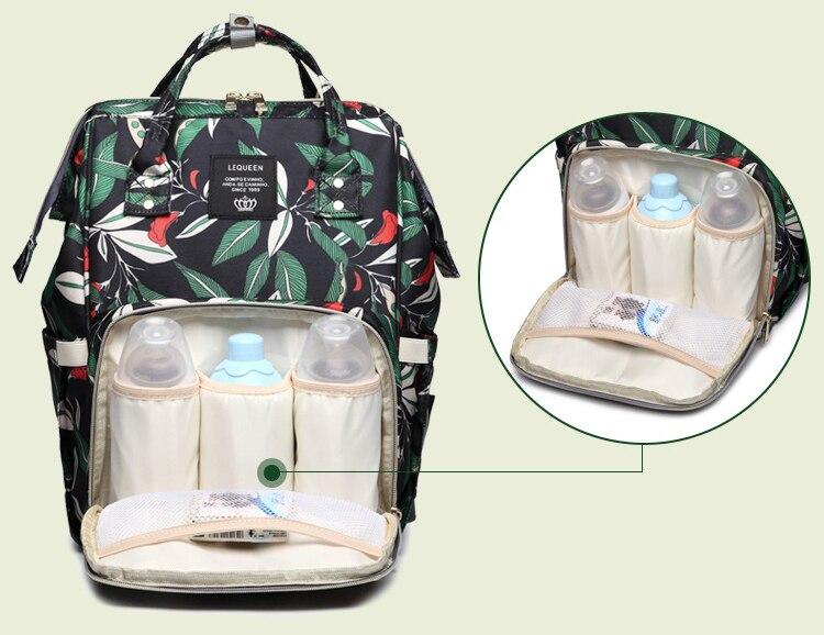 HTB18DE5awmH3KVjSZKzq6z2OXXaZ Diaper bag backpack mommy bag Maternity large nappy bag Bolsa Maternida Printed Bebe baby bag Travel Backpack Baby Care wetbag