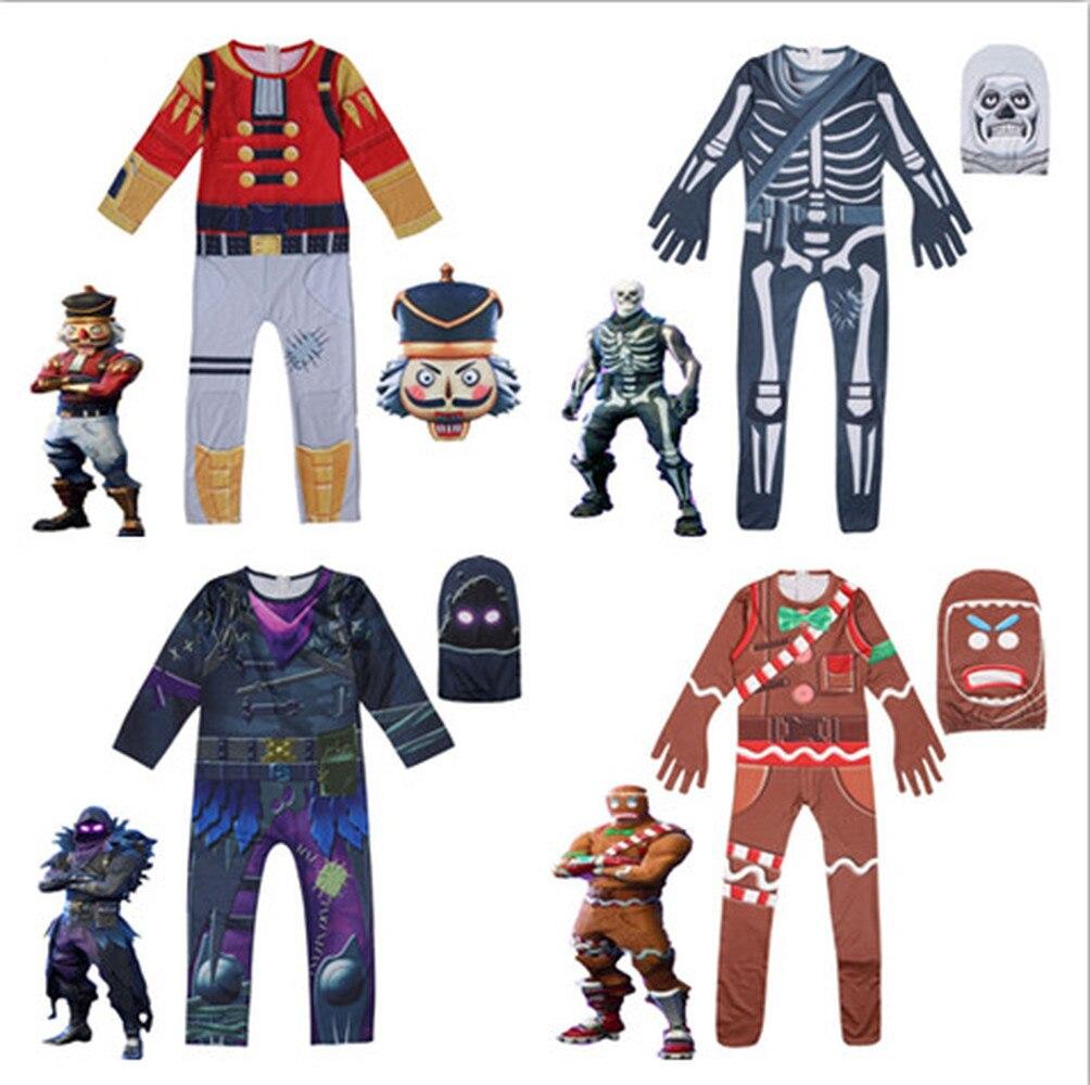 Ninjago Halloween Costume.Flytrap Skin Decoration Ninjago Clown Boy Cosplay Clothes Halloween