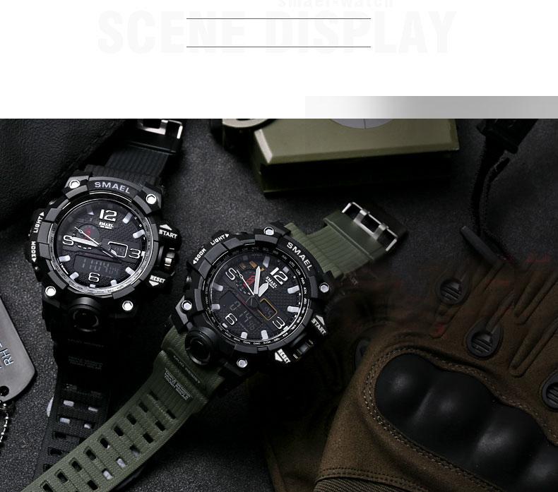 HTB18DEbSXXXXXXiXVXXq6xXFXXXn - SMAEL MUDMASTER 2017 Fasion Sport watch for Men