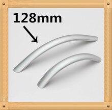 Отверстие CC 96 мм/128 мм Алюминия, Кухонная Мебель тянет Твердых шкаф ручки ящика ручка