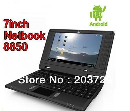 """Wholesale - Best V702 Android 4.0 OS 7""""Netbook 512M 4G Camera HDMI WIFI 3G Via8850 Free shipping"""