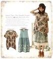 Twinset rendas bordado tunique femme ropa mujer mulheres two piece outfits vestidos hippie boho de crochê lolita mori menina espanha euro