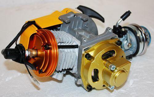 47cc 49cc moteur 2 temps universel pour Mini Scooter de poche motos de saleté ATV Quad moteur accessoires pièces de rechange
