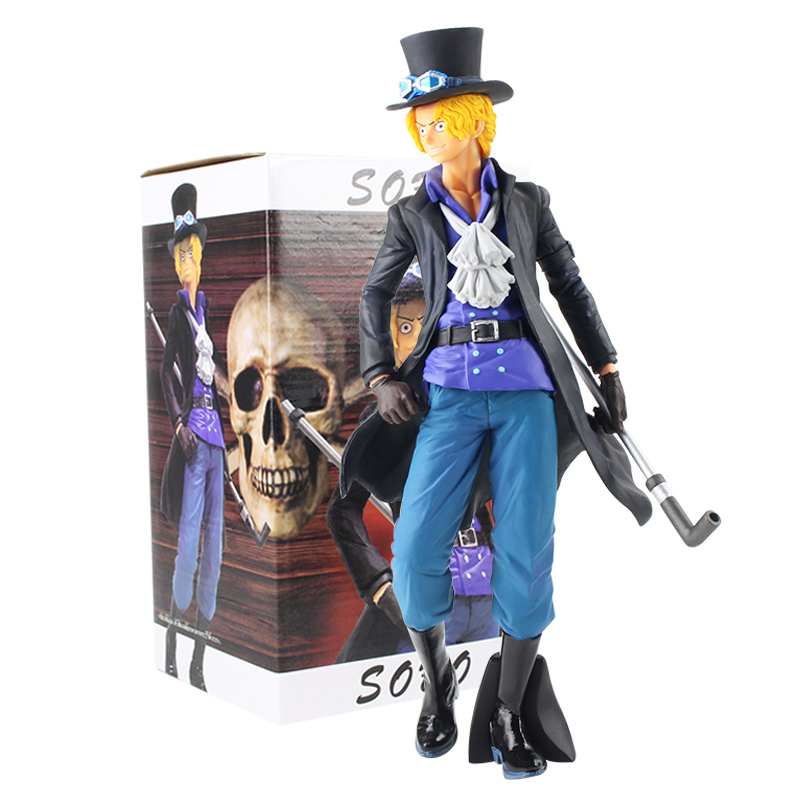 Rongzou 27cm ONE PIECE Sabo Sobo 20th Anniversay Model Toys