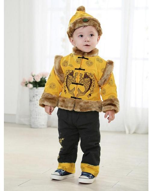 0f08d54da Baby boys clothing sets Chinese traditional cloths for baby boys china  style clothing set kids new year clothes