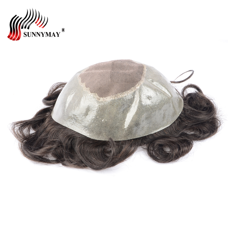 stock Human hair men toupee Apollo , Sunnymay prosthesis , hair piece hair replacement free shipping