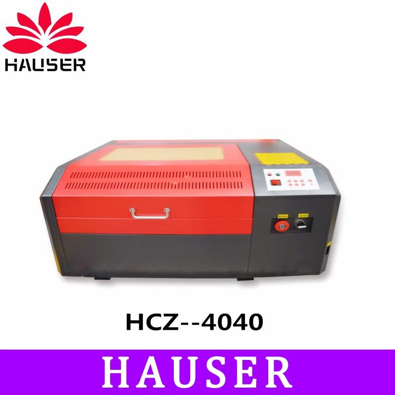 Envío gratuito HCZ co2 láser CNC 4040 máquina de grabado láser máquina de marcado láser mini grabador láser cnc enrutador diy