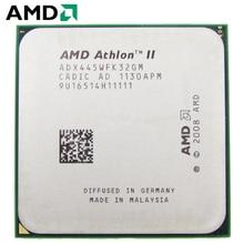 AMD Athlon II X3 445 cpu Разъем Am2 + AM3 95 W 3,1 GHz 938-pin трехъядерный настольный процессор cpu X3 445 Разъем Am2 + am3