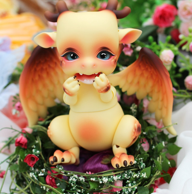 Toys BJD Doll Aileen Pet Dragon Shy SD Soom Luts Ai FairyLand DZ For Sales