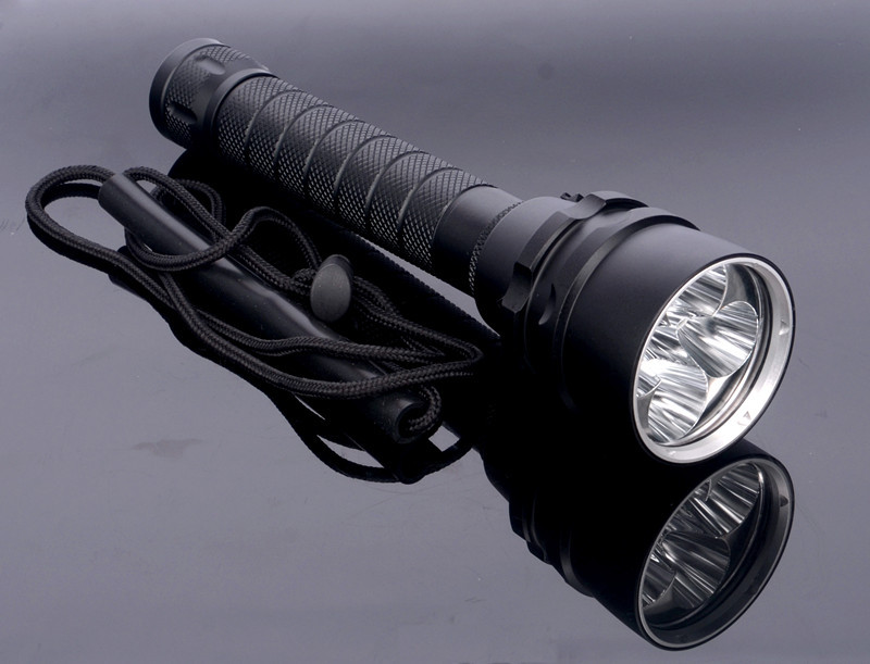 Super Bright 8000LM 5x T6 Mag Switch LED Waterproof ...