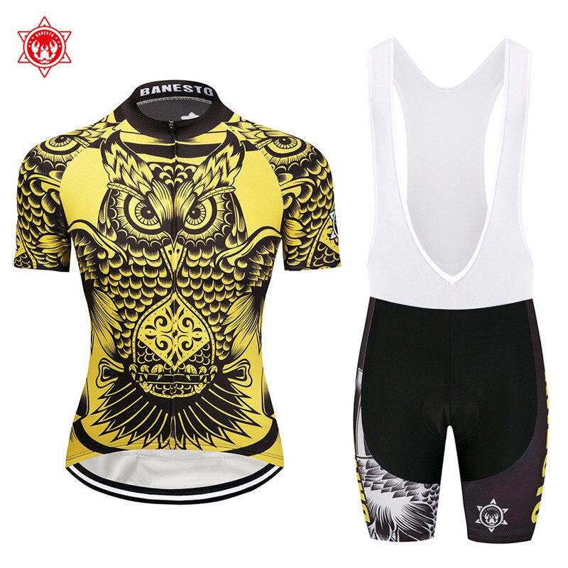 c930ba364 2018 Owl city Cycling Jersey 9D GEL Pad Bike Shorts MTB Men s Cycling  Clothing summer bike