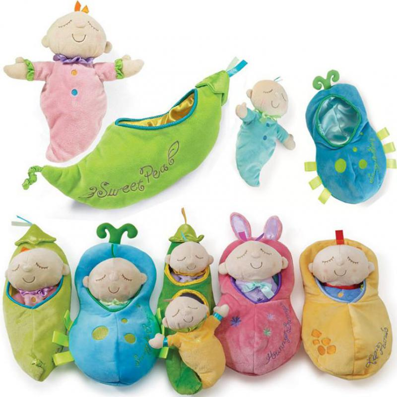5b1b90fca Pea Prince/princess Calm Doll Baby Sleep Plush Toys With Eva Super Cute  Little Peas Stuffed Plush Doll 1 Baby In A Pod Pea Plush-in Stuffed & Plush  Plants ...