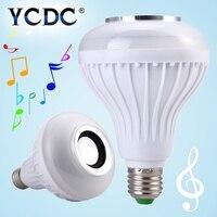 Smart LED Blub Light Wireless Bluetooth Speaker 110V 240V E27 12W Lamp Audio For IPhone 5S