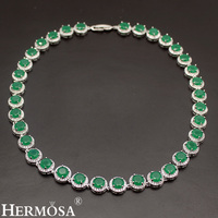 HERMOSA JEWELRY 925 Silver Women Choker Sterling Silver Necklace Classic Round Style Jewelry Fashion Party Dress Up Lady Design