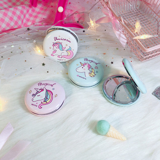 Unicorn Double-sided Mirror