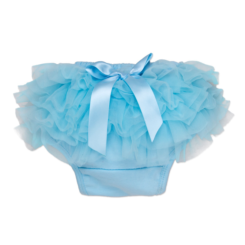 adf038dc3ce 2018 New Solid Bloomer Tutu Ruffle Design Baby Short 14 Colors Girls Pants  0-24