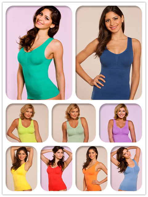 74f18f622a978 Free Shipping 600pcs Genie Bra Cami Shaper by Genie with Removable Pads  inside as seen on