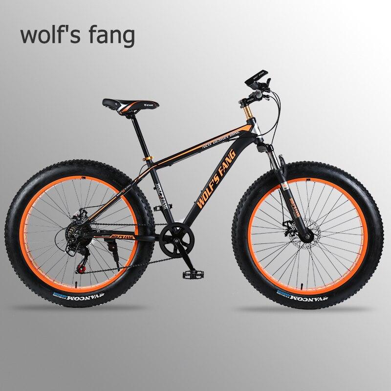 Lobo fang bicicleta Mountain Bike bicicleta de estrada liga De Alumínio quadro 26x4.0