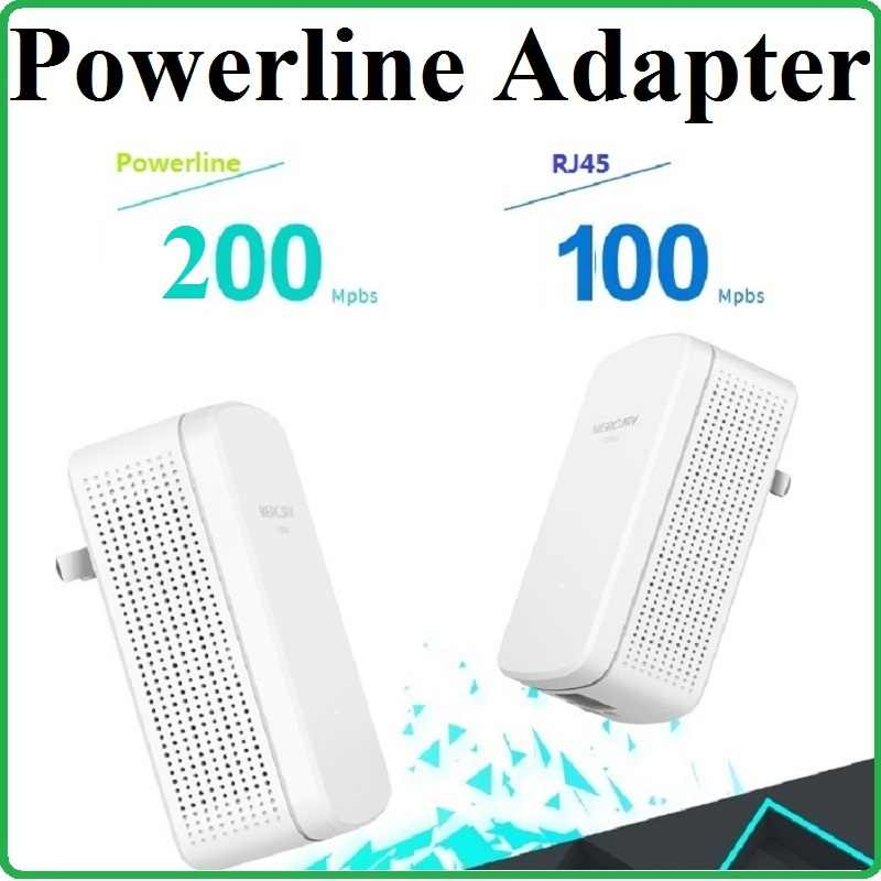 1 par 100 Mbps RJ45 Puerto 200 Mbps red Powerline adaptador AV200 Ethernet PLC adaptador router WiFi socio IPTV... Homeplug AV2