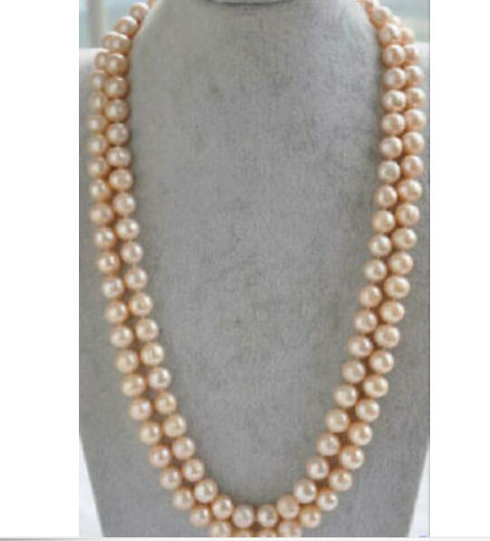 white akoya pearl necklace 14k yellow gold clasp 35 /'/'natural 5.5-6 mm AAA