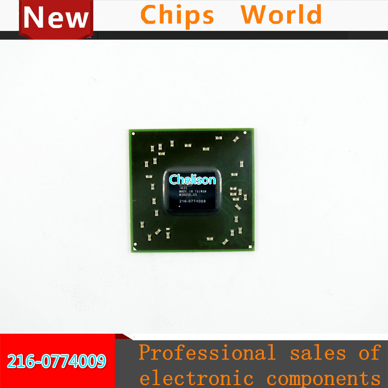 New 216-0774009 216 0774009 BGA Chipset With Balls IC chips 2016+ freeshipping 100% new intel 82801hbm ic chipset with bga stencil 90mm nh82801hbm