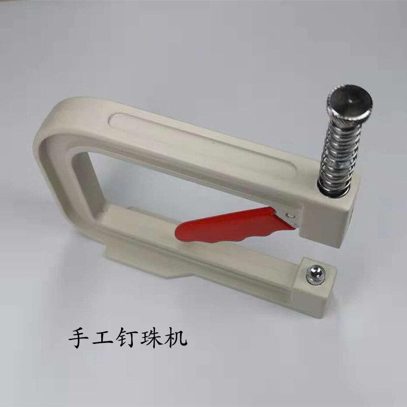 SOWOO manuel perle/perle/rivet cadre machine Poinçonnage Manuel pour ABS Perle 4-10 MM bricolage machine vêtement Accessoires D004
