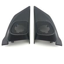 2 pz ABS Auto Porta Copertura Trim Pannello audio Degli Speaker Audio Tweeter misura Per Honda CRV CR-V 2012 2013 2014 Car Styling Accessori