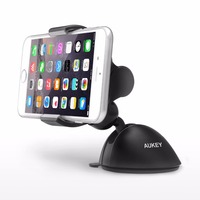 Aukey 360 Degree Rotation Dashboard & Windshield Car Mount for XiaoMi Huawei Samsung iPhone Mobile Phone Holder Stands