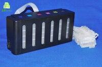 2sets Grade A 6 Colors Continuous Ink Supply System for Epson L800 L801 L805 L810 L850 L1800 L1300 CISS