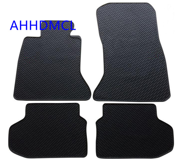 Ahhdmcl Car Rubber Floor Mat Non Slip Mats Feet Rugs For Bmw Series