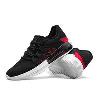 PU 스포츠 신발 남성 경량 운동화 남성 레이스 업 실행 신발 스마트 칩 Zapatillas 아저씨 조깅 운동