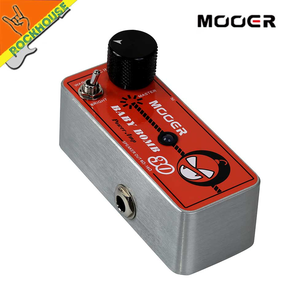 Mooer Preamp Guitar Effect Pedal Guitar Cabinet Driver Post Stage Tube Overdrive Digital 30 Watter Micro Power AMP Free Shipping mooer 004 day tripper micro preamp pedal for electric guitar