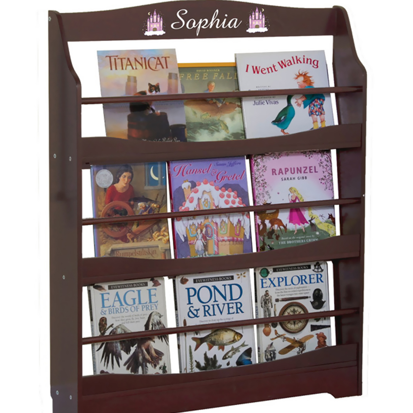 GuideCraft Expressions Bookrack Espresso guidecraft expressions trophy rack natural