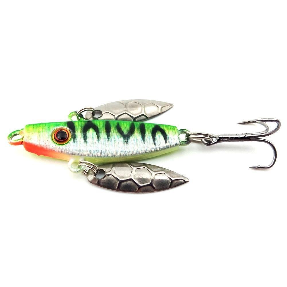 Mounchain 4Pcs 7g 50mm Sequins Fishing Lure Bait Hooks Artificial Lure in Fishing Lures from Sports Entertainment