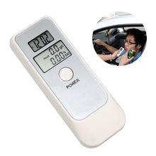 Car Accessories Digital LCD Display Breath Alcohol Tester Breathalyzer Analyzer Detector Test