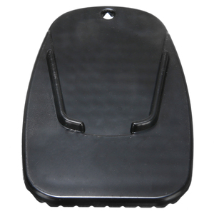 """Image 5 - 1pc motocicleta de plástico preto kickstand suporte lateral placa base almofada 3/16 """"pequeno buraco para cruzadores esporte/bicicletas sujeira"""