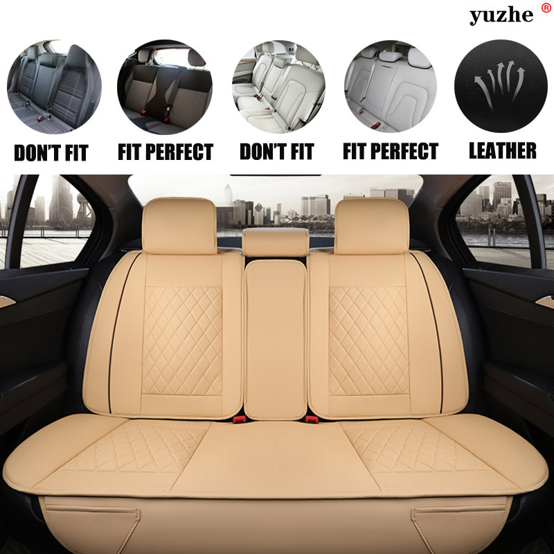 Yuzhe Leather car seat cover For Land Rover Discovery Sport freelander Range Sport Evoque Defender car accessories styling car armrests cover pad vehicle center console arm rest seat pad for land rover lr4 lr2 range rover evoque seat mazda 23 6