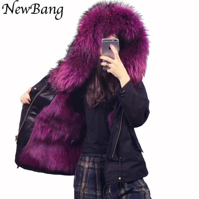 Cheap Fast Free Shipping Women Real Fox Fur Liner Jacket Winter Parkas Large Collar Parka Detachable Thickening Warm Overcoat